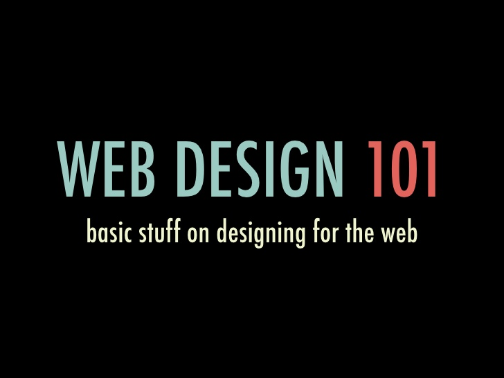 Web Design 101: The Basics You Need to Know
